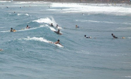 body boarding in Gran Canaria