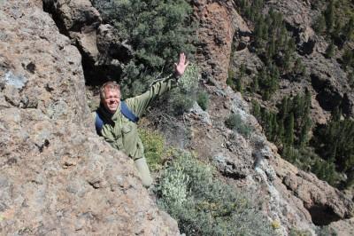 Pico de Las Nieves for climbers