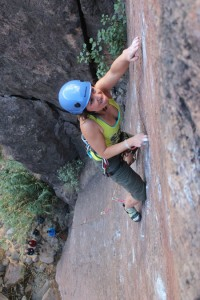 Climbing Sorrueda