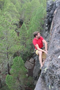 Climb in Tamadaba
